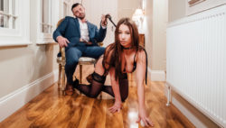 Luxurious Taylor Sands handled with raunchy respect by her stud