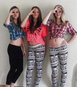 A trio of babes