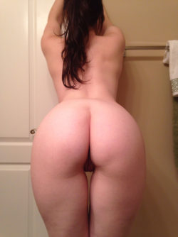 Amateur in the bathroom