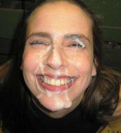 Amateur loves a fat facial