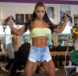 Andreia Brazier- Brazilian Fitness Model