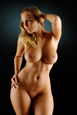 Beautiful Blonde Curves