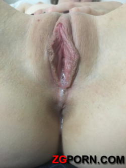Beautiful pussy after sex