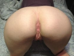 Bent over with a better view of proportions. Small waist