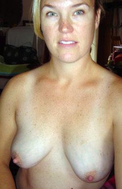 Big Sexy Nipples and Beautiful Eyes