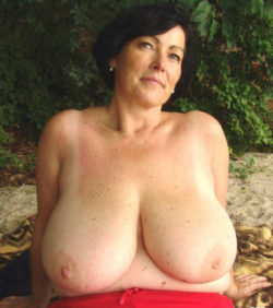 Busty mom...