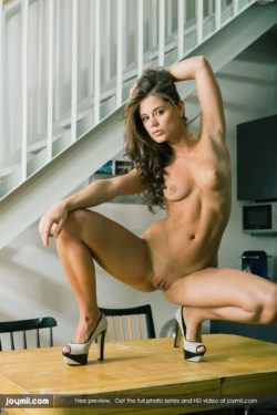 Caprice on a table