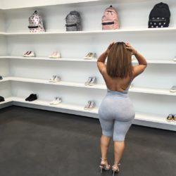 Ciera Rogers shopping