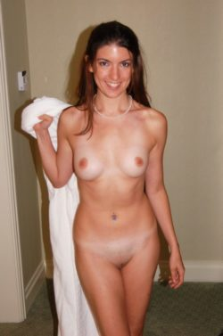 Cute girl with Tanlines