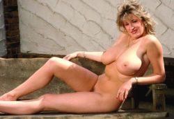 Debbie Quarrel on a bench
