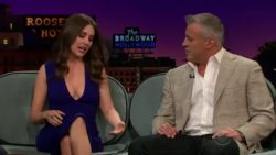 Alison Brie shows great range and character development on The Late Late Show with James Cordan