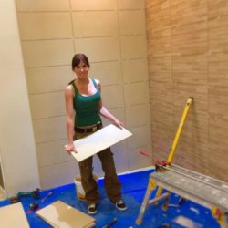 Doing the tiling