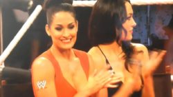 Bella Twins Nipple Pops Out on RAW