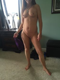 (F) The naked MILF next door