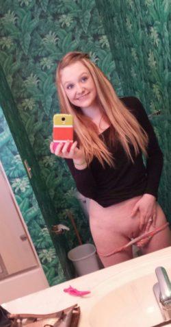 Fun selfie