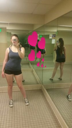 Gym struttin