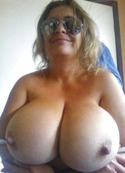 Hard nipples...