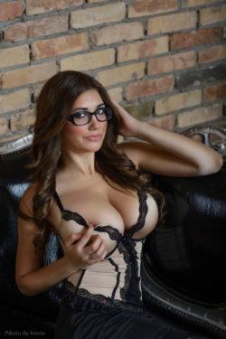 Hottie in glasses