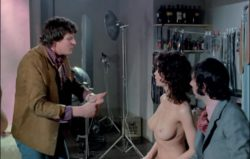 """Making sure they show all of Gabrielle Drake's plot in """"Au Pair Girls"""" (MIC)"""