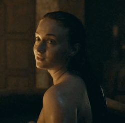 Sophie Turner's almost plot in last season's GoT...