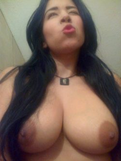 Mexican gf big tits