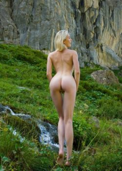 Milf in nature