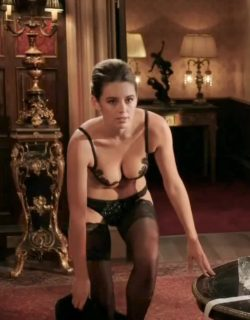 """Keeley Hazell pretty much maid the plot in """"The Royals"""""""
