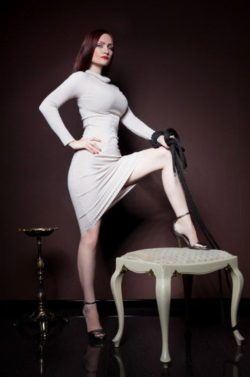 Mix between Femdom and a tight dress.