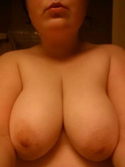 My gf's boobs are the best cum target - PM's welcome ;)