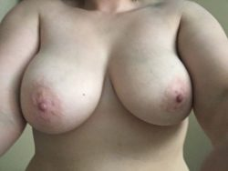 My wife definitely has milf titties! Hope all of you enjoy as much as I do!