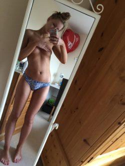 Panties and a handbra