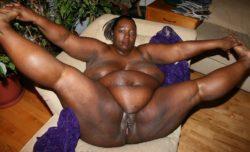 Sexual chocolate anyone? (ebony BBW