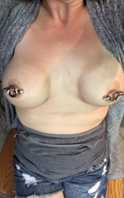 She got some new clamps