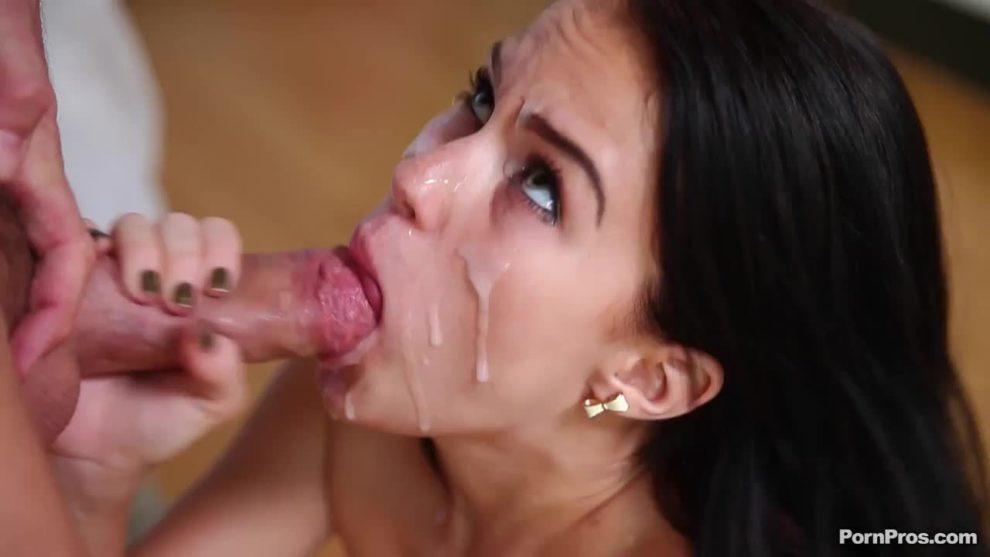 Nutted but she still suckin' (Megan Rain)