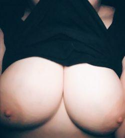Tits look okay?