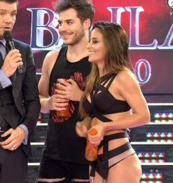 """Lourdes Sanchez had crowd pleasing plot and an interesting backstory in Argentina's """"Bailando por un sueño"""""""