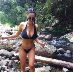 Walking along the creek