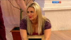Anna Semenovich - Russian Tv Host (21.05.2016)