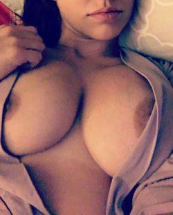 Wife's big titties