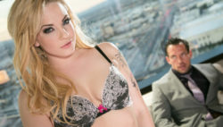 Dahlia's calls a masculine escort to service her slutty dreams