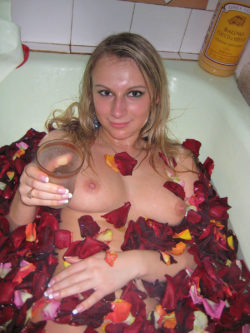 A nice relaxing bath