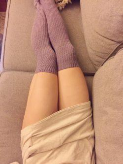 Amateur sock model (f)