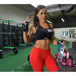 Ana at the gym