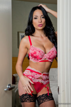 Anissa Kate in Red