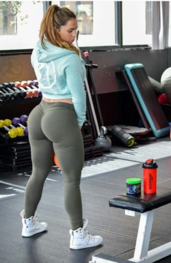Another day at the gym