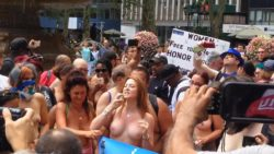 "Rachel Jessee @ ""Equal Topless Rights For All"" Rally [More in Coments]"