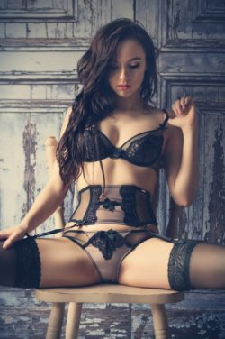 Black Lace and Garters