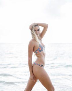Blonde Beach Bum