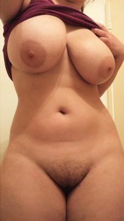 Bushy Pussy Big Boobs