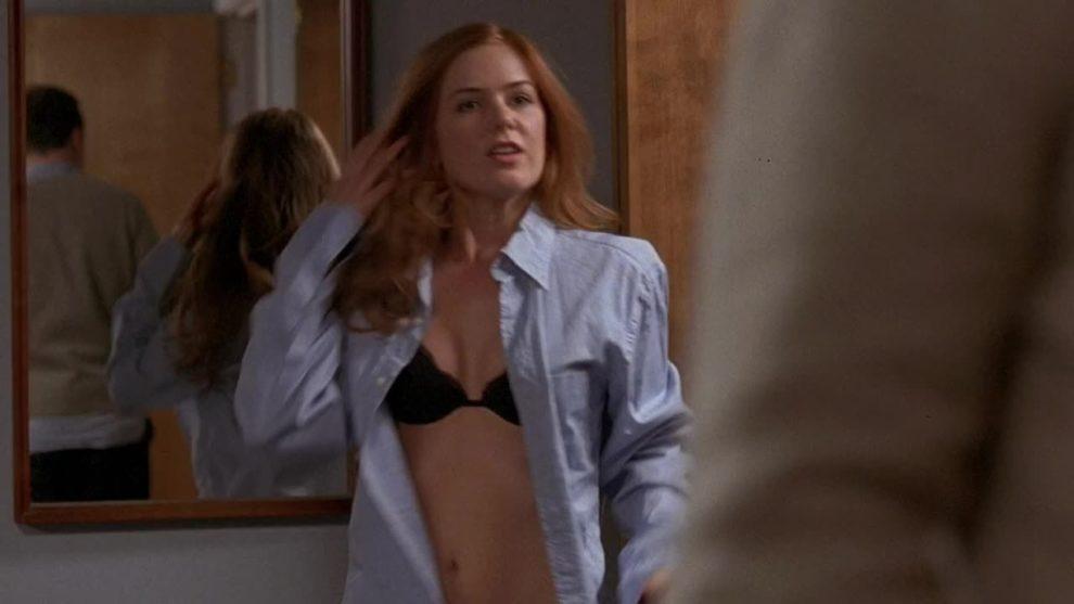 Isla Fisher underwear plot in Wedding Daze